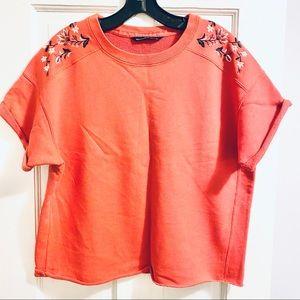Abercrombie Short sleeve sweatshirt t-shirt